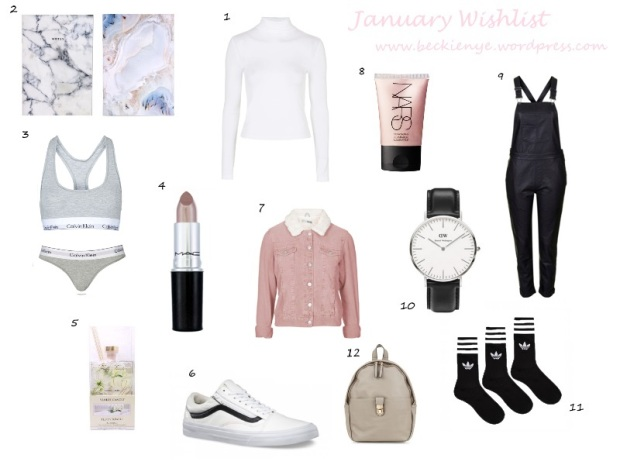 January wishlist