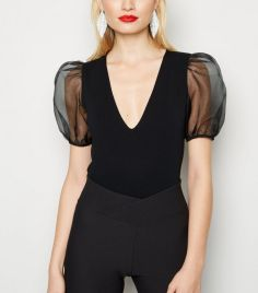 black-organza-puff-sleeve-bodysuit (1)