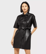 Miss selfridge leather dress