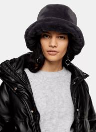 topshop fluffy hat